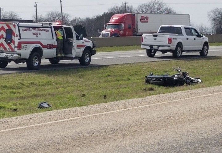 Motorcycle Accident I-30WB At Mile Marker 108 #Breaking