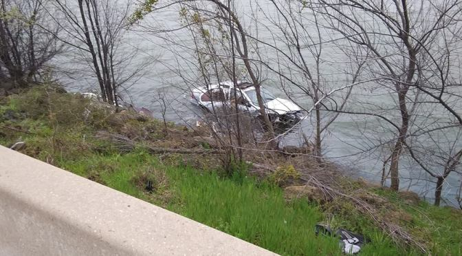 Accident Leaves Vehicle Floating In Lake Ray Hubbard #Breaking