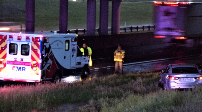 No Major Injuries In The Wreck On I-30 Under The Moulton Street Bridge
