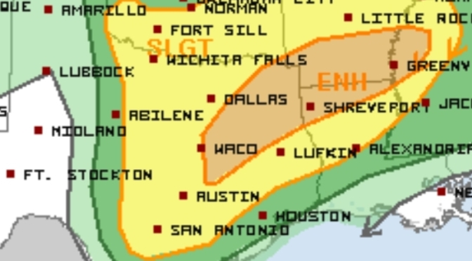 Severe Storms Possible Tomorrow