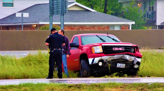 Afternoon Motor Vehicle Accident I-30 Eastbound Service Road In Front Of Lone Star Pawn