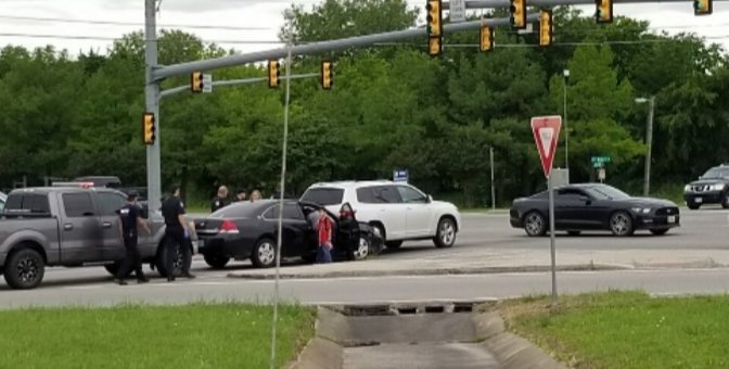 No Injuries In An Afternoon Wreck At Wesley St  & Joe Ramsey Blvd