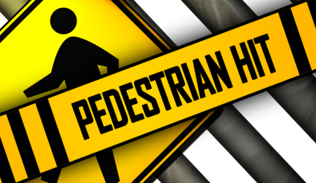 Vehicle Hits Pedestrian On Wesley St Near Auto Zone This Evening #Breaking