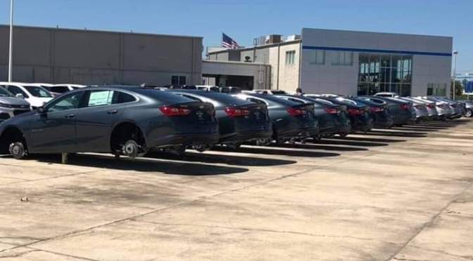 Hundreds Of Tires Stolen From Dealership