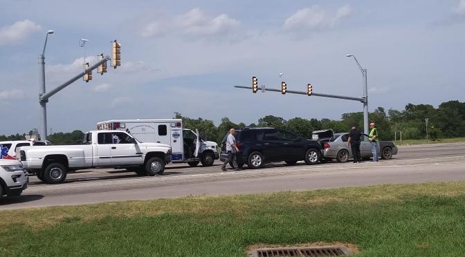 3 Car Accident At Jack Finney & Joe Ramsey Blvd