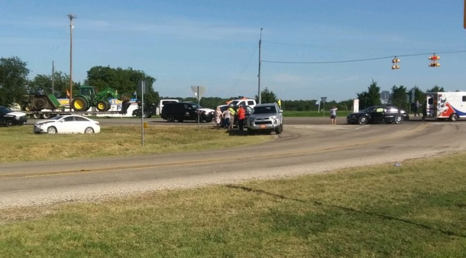 3 Car Motor Vehicle Accident Hwy 224 At FM 118
