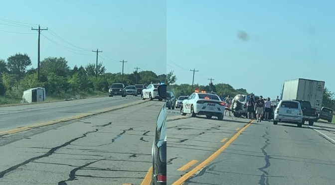 Motor Vehicle Accident Highway 69 Near Lone Oak