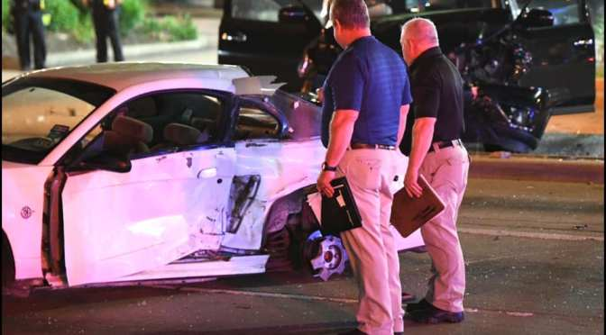 Man and woman fleeing traffic stop in Garland crash into a family